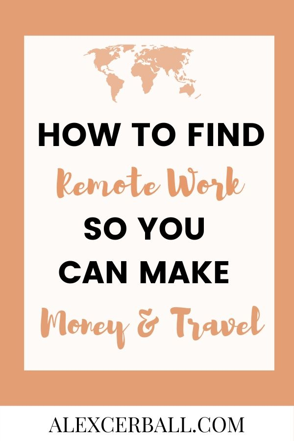 work and travel - how to find jobs