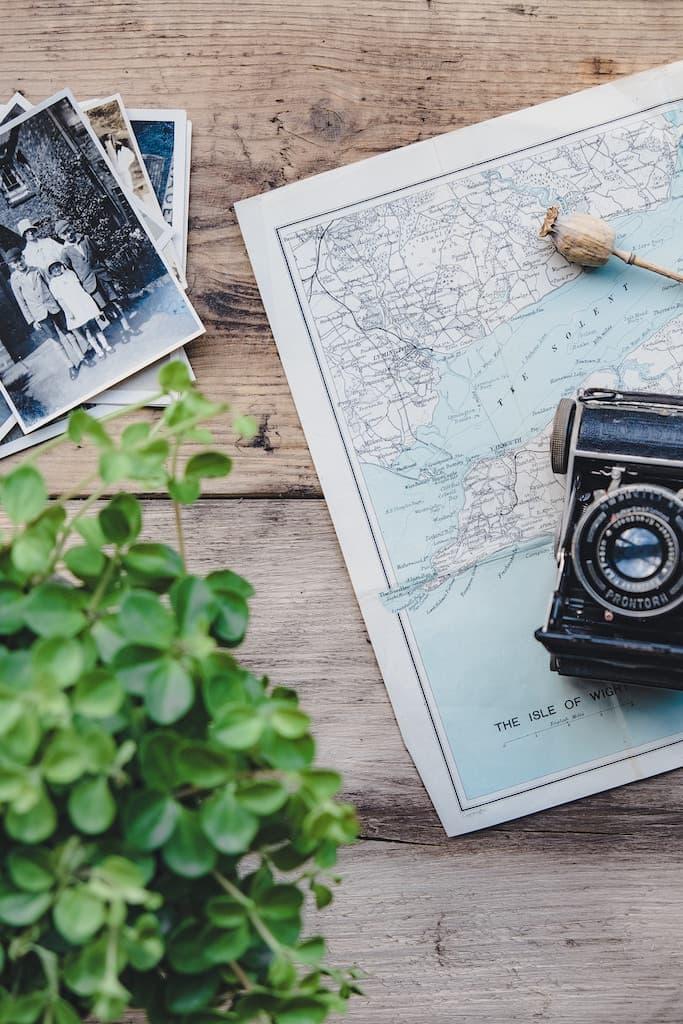 map to display photos