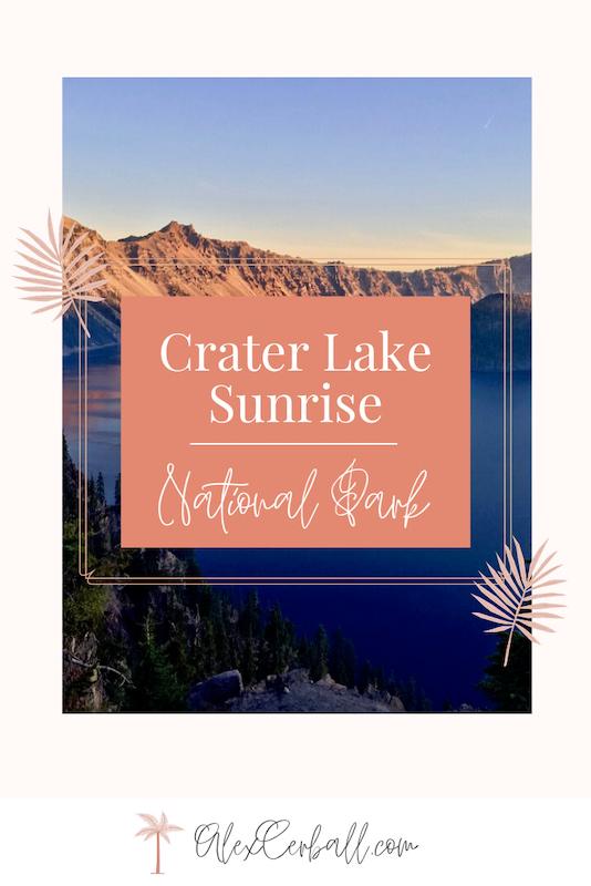 Crater Lake Itinerary