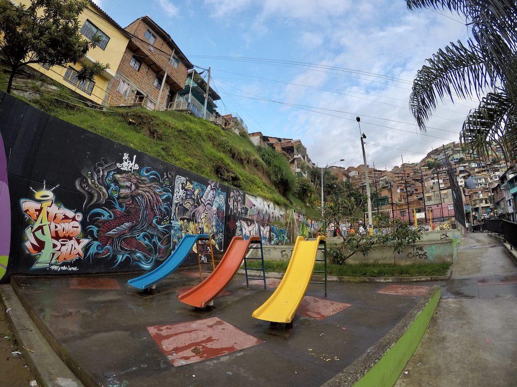 Comuna 13 free walking tour