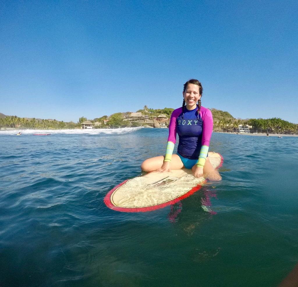 Surf Lesson Central America