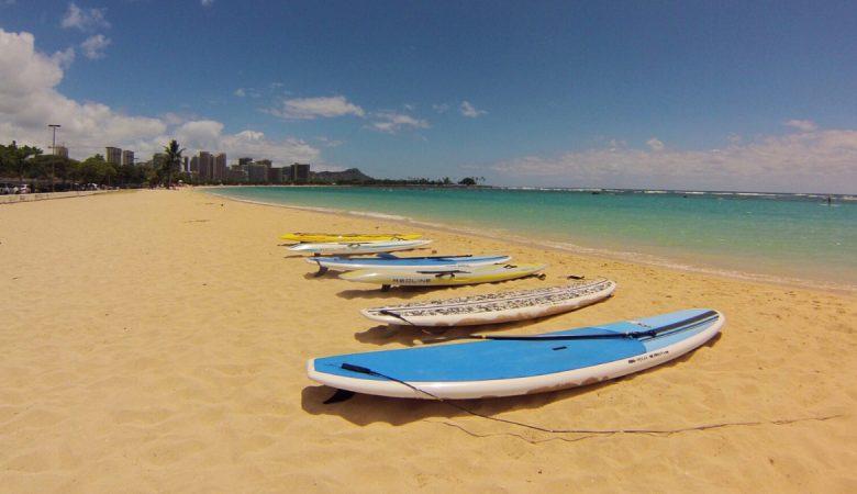 Oahu Paddle boarding