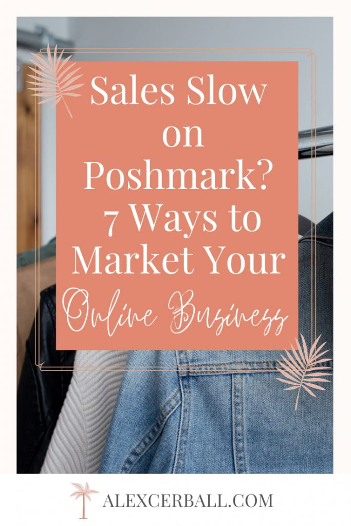 not making sales on poshmark