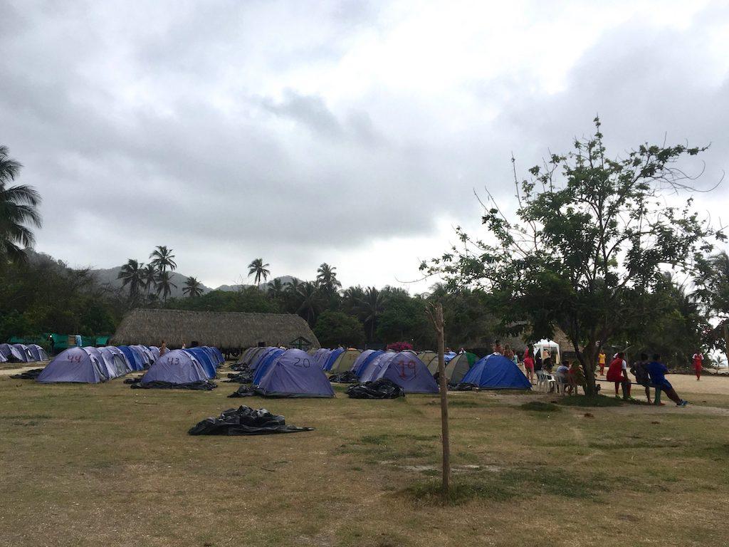 Tayrona National Park Camping