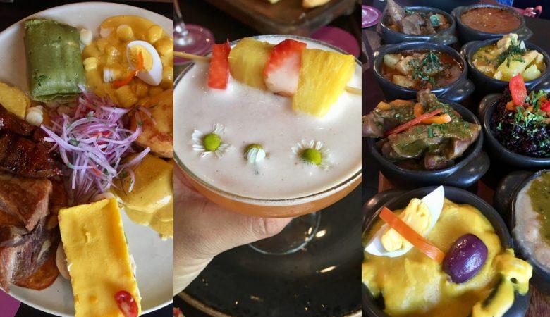 Traditional Peru Food