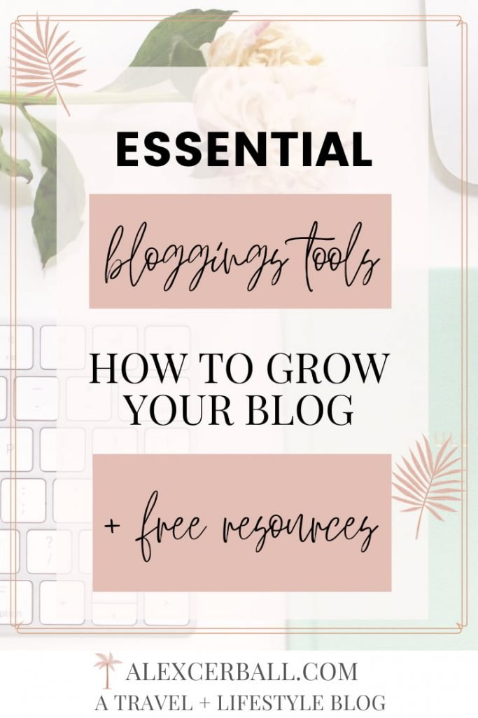 Useful Blogging Tools + Resources
