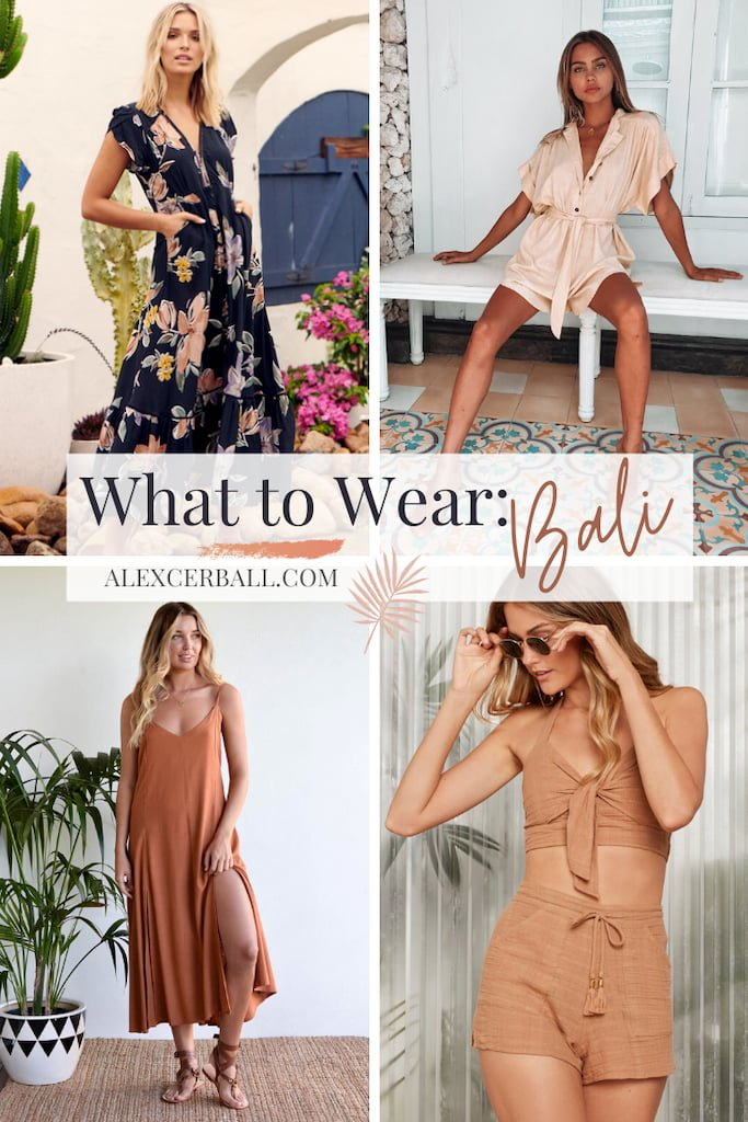 What to Wear in Bali