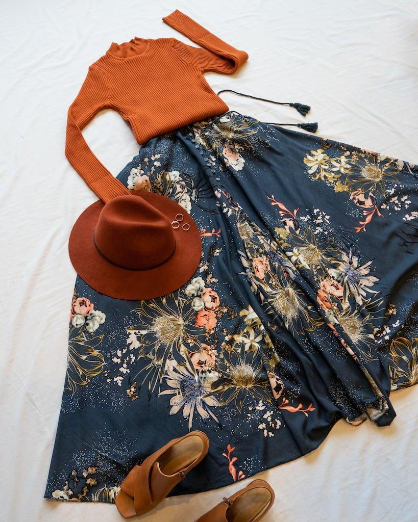 Boho Winter Outfits