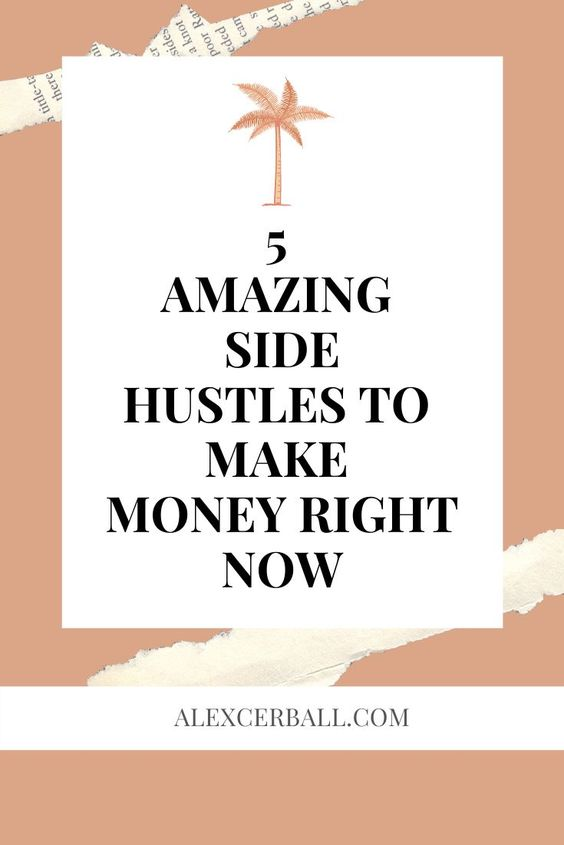 creative side hustles