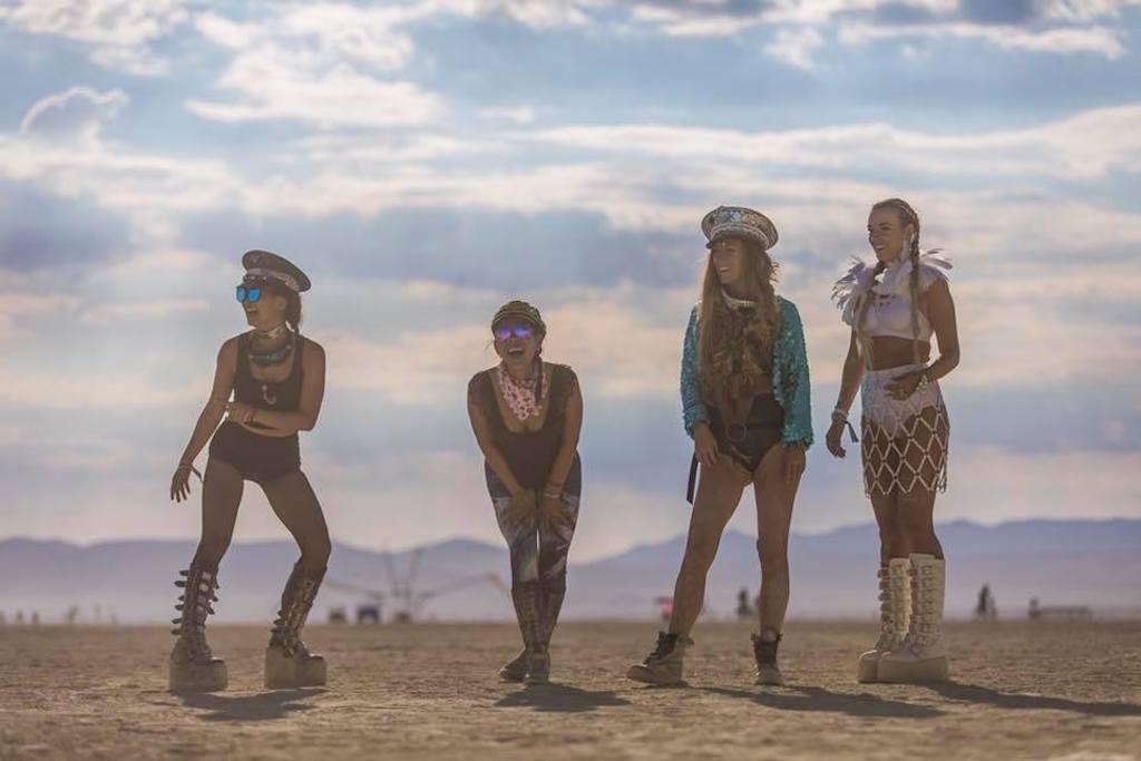 First Burning Man