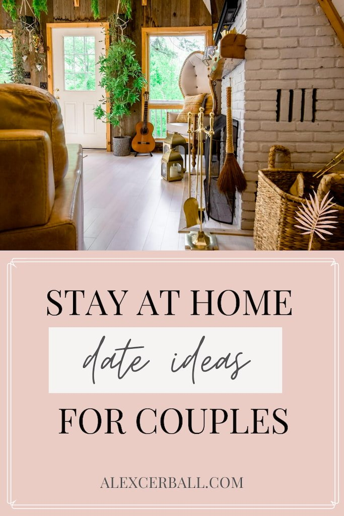 fun stay at home date night ideas