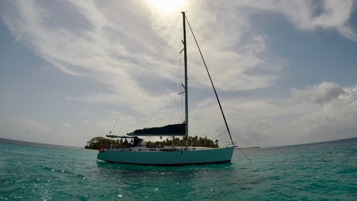 sailing san blas islands to colombia