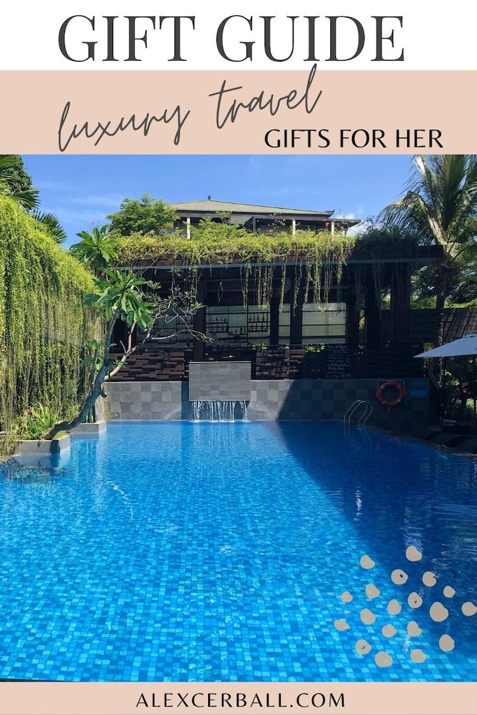 luxury travel gift guide