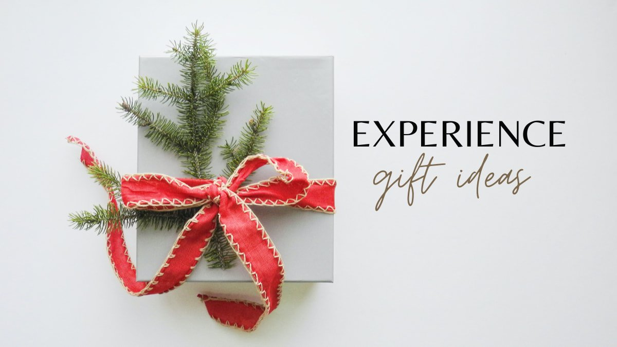 experience gifts for parents