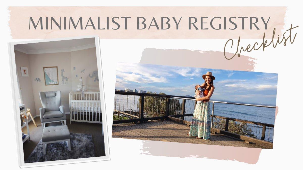 Minimalist Baby Checklist