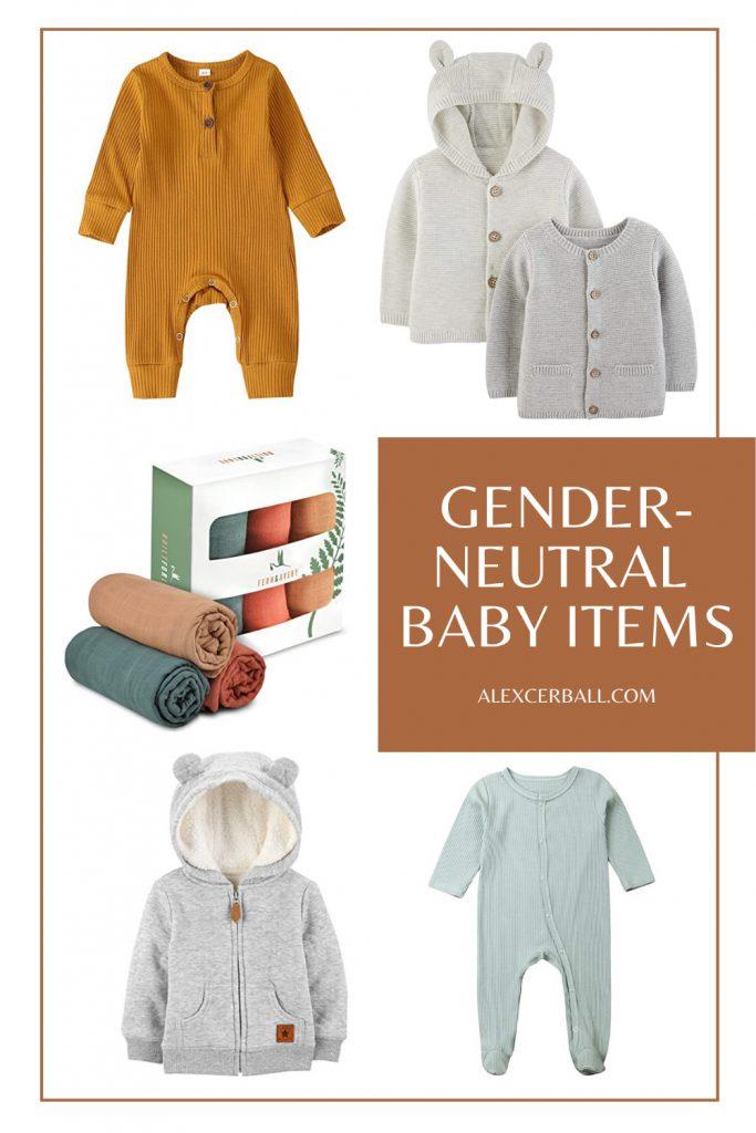 Gender Neutral baby Items