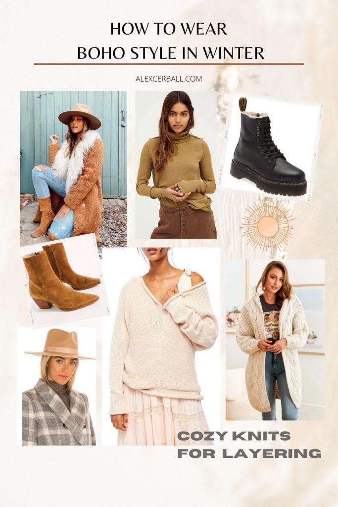 Boho Winter Fashion Australia
