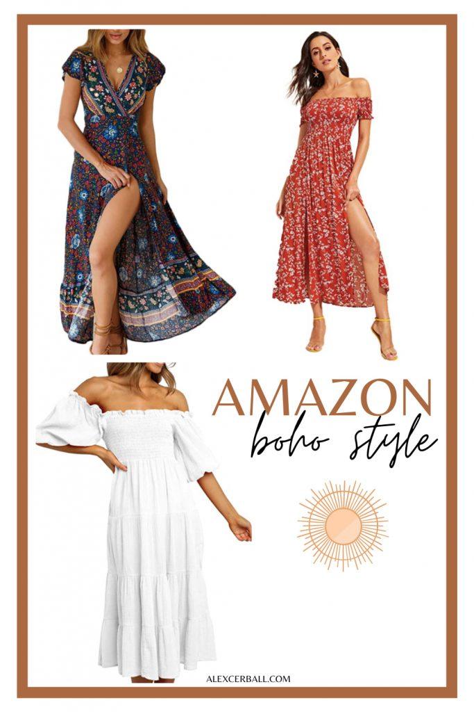 Amazon boho summer dress