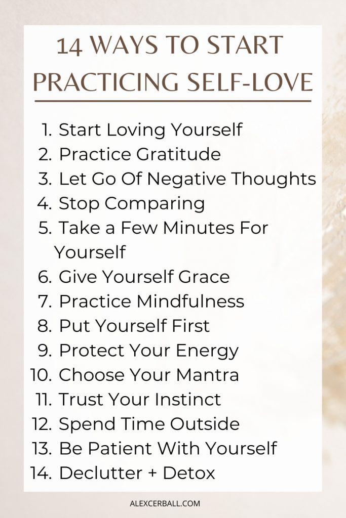 self-love-habits
